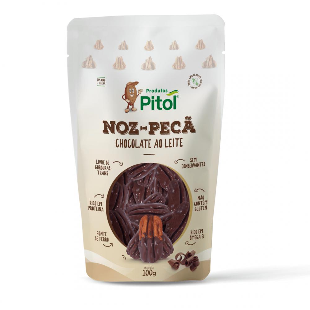 Nozes com Chocolate Ao Leite 100g